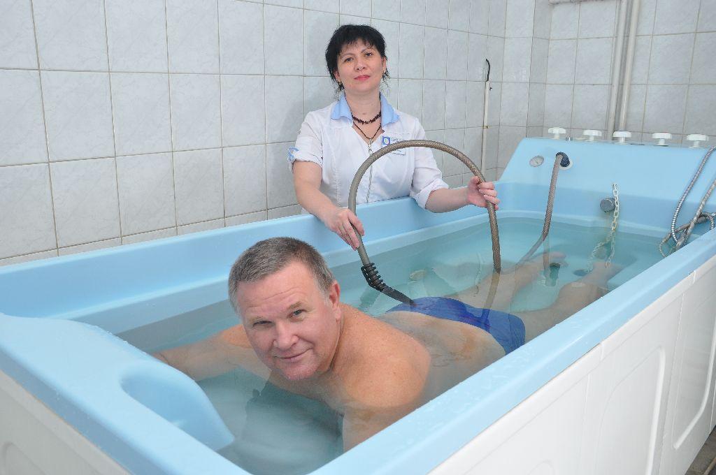 Похудеть в санатории минеральных вод
